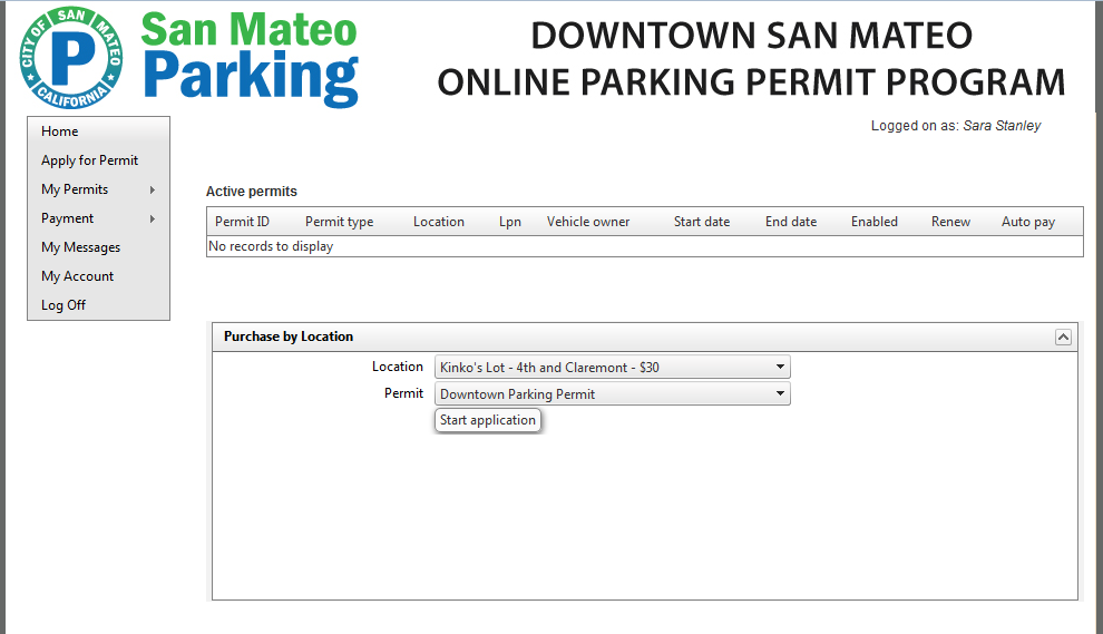 On The Next Screen Select Month Youd Like For Your Permit To Be Valid Below Cost Of You Are Given Option Auto Renew This